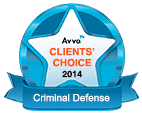 Avvo Clients Choice 2014 Criminal Defense